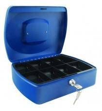 Q-Connect 10in Blue Cash Box