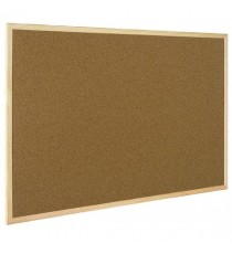Q-Connect Light 600x900mm Cork Board