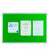 Q-Connect Noticeboard 900x600mm Green