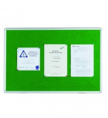 Q-Connect Noticeboard 1200x900mm Green