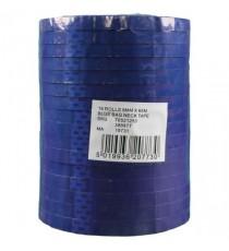 Flexocare Blue Vinyl Tape 9mm X66m Pk16