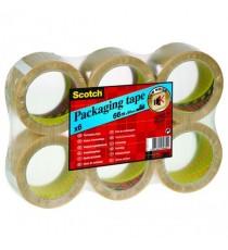 Scotch Tape PVC 50x66 Clear PVC5066F6 T