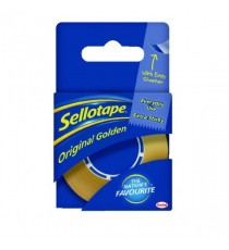 Sellotape Golden 18mm/25M Tape Pk8