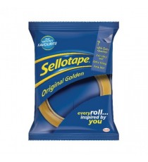 Sellotape Golden Tape 24mmx66m Pk12