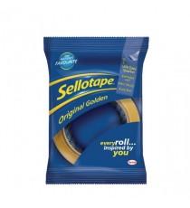 Sellotape Golden Tape 48mmx66m Pk6