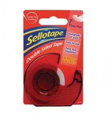 Sellotape Dble Sided 15mmx5m /Dispenser