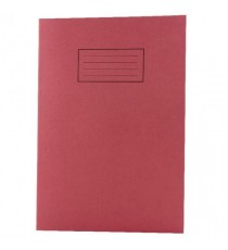 Silvine Red A4 Exercise Books Pk10 EX107