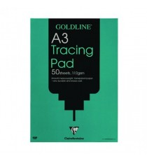 Goldline Tracing A3 Pad 50 Sht GPT3A3