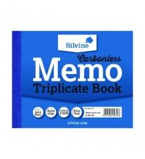 Silvine Triplicate Memo Book 707 Pk5