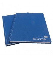 Silvine Casebound Notebook A4 Pk6
