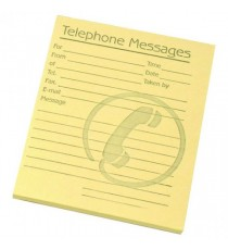 Challenge Tele Msg Pad 4x5 Ylw 100080477