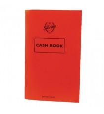 Silvine Cash Book 159x95mm Red Pk24