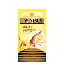 Twinings Lemon/Ginger Infusion Tea Pk20