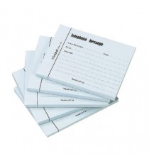 Guildhall Blue Telephone Message Pad Pk5