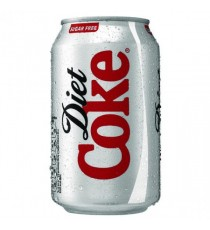Diet Coca Cola Can 330ml Pk24 0402004