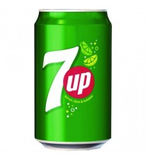 7-Up Lemon/Lime Soft Drink 330ml Pk24