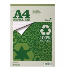 Silvine Evrdy Recycled Refill Pad A4 Pk6