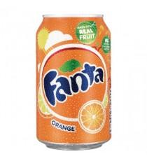 Fanta Orange Drink 330ml Cans Pk24