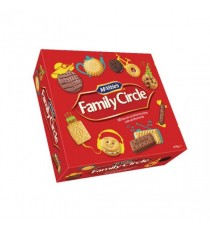 Family Circle Biscuit Assortment 670g