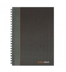 Collins Ideal Ruled Wbound Notebook A4