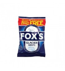 Foxs Glacier Mints 195g Pk12