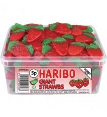 Haribo Giant Strawbs Drum 9547