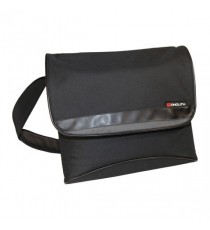 Monolith Nylon Laptop Messenger Bag Blk