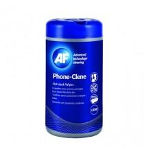AF Phoneclene 100 Wipes Tub APHC100T